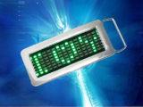 Scheda nome LED/badge