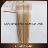 Estensioni dei capelli del nastro di colore del piano dissipate doppio europeo di Remy