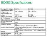 DC à AC Inverseur de fréquence de la pompe à eau solaire/convertisseur