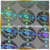 Holograma láser personalizado de alta definición de embellecer el embalaje (H-086)