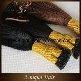 Venda por grosso Federação Remy I Dica queratina extensões de cabelo