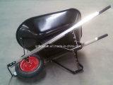 Курган колеса тачки Wb6601 вагонетки тележки инструмента сада резиновый
