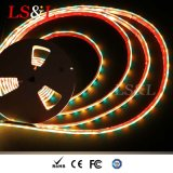 RGB+Amber는 높은 광도 Ledstrip 가벼운 밧줄 홈 점화를 방수 처리한다