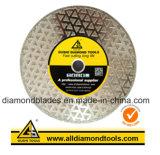 Electroplated 다이아몬드 대리석 화강암은 절단을%s 톱날을