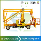 6m 8m Hydraulic Truck Mounted Articulated boom elevator