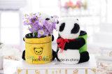 Adorable panda de peluche juguete colorido portalápices