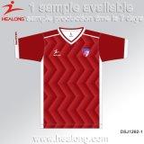 Best Selling Healong Sublimação de vestuário de futebol masculino Jersey