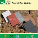 Attraverso la scheda del cemento della fibra della scheda del silicato del calcio di colore