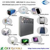 12V 100ah Lithium-tiefer Schleife-Batterie-Wohnwagen-Solarkampieren