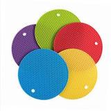 Stuoia spessa supplementare di Trivet del silicone per la cucina