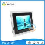 Vídeo acrílica funcional do frame de OEM/ODM multi 8 polegadas