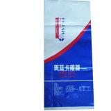 Мешок Kraft белой бумаги для зодчества ступки еды конкретного