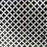 Lamina di metallo perforata del foro quadrato