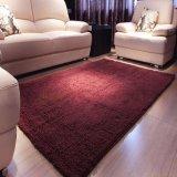 贅沢なMicrofiberのホームフロアーリングの織物のカーペットの正方形のシュニールのマット