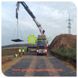 Efecto antideslizante UHMWPE Alfombrilla de protección de tierra por carretera temporal para los Estados Unidos