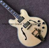 Kits de guitare de bricolage / Es335 jazz de corps creux, guitare électrique en orange (gj-20)