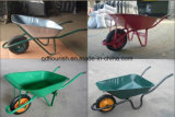 Carrello Wb6214 dello strumento della riga della barra di rotella della carriola dello strumento di giardino