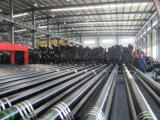 Carcasa de OCTG sin soldadura del tubo y tubería de aceite de tubo con J55/K55/N80/L80/P110/Btc/STC/LTC/R3