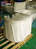 Fibra de vidro moldado Cone escape de ventilação da ventoinha do ventilador de refrigeração