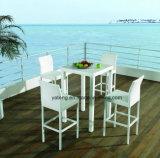 Outdoor Beach Bar Table Club Bar Table Waterproof mesa de rotinho PE (YTD249)