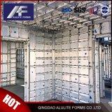 Vustom hechas de aluminio del panel de encofrado encofrado aluminio personalizado