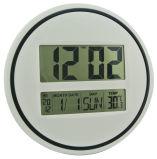 Relógio de parede digital de tamanho grande com temperatura