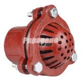 Válvulas do ferro/válvula de aspiração vermelhas carcaça de areia