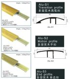 12mm Flooring Accessories Aluminium Ende Profiles mit Bottom Track