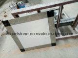 Характер полированным/Отточен Китай снег белые мраморные плитки на кухне// пола в ванной комнате на стене