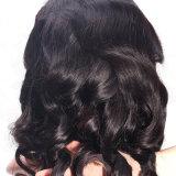 Parrucca piena naturale brasiliana del merletto del Bob Glueless Remy dei capelli umani del Virgin di modo
