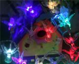 LED 잠자리를 바꾸는 색깔을%s 가진 태양풍 차임 빛