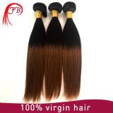 Migliori capelli umani diritti serici di vendita dei capelli di Omber