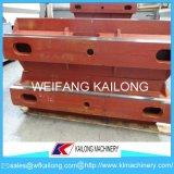 Caixas elevadas da areia da produção, caixa de Moluld, produto Ductile da caixa do molde da areia de ferro do ferro cinzento