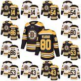 2018 nuovi Bruins 14 Paul Postma 54 Adam Mcquaid della signora Kid Boston degli uomini di marca 86 pullover del hokey di Danton Heinen del portatore di Kevan Miller Daniel Vladar Chris