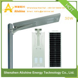 30W Direct Factory New LED Solar Light for Street