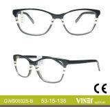 China proveedor diseñador gafas Gafas de óptica de marcos (325-B).