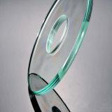 Le verre trempé à bord rond poli 10mm Prix