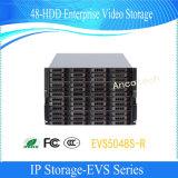 Almacenaje video de la empresa del almacenaje SATA 48-HDD del IP de Dahua (EVS5048S-R)
