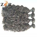 卸し売り加工されていなく安い人間の毛髪のバージンのインド人の毛