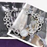 De nieuwe Hete Verkoop van de Fabriek van de Armband van het Kristal van de Juwelen van de Kleur van de Aankomst Zilveren