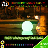 D40cm baratos decorativa LED Bola de piscina flotante Waterproof