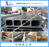 WPC zusammengesetzter Decking erstellt Extruder, WPC Profil-Produktionszweig, Standplatz-Spalte-Profil-Maschine ein Profil