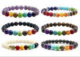 Armband van de Yoga van de Steen van het Gebed van Boedha van Reiki de Natuurlijke voor Vrouwen