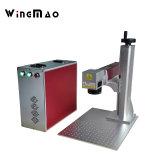 Máquina de grabado del laser de la tecnología de la marca del laser del grabado del laser de la fibra de la etiqueta de perro para el metal