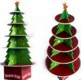 Étalage fait sur commande économique de carton de Noël d'étage