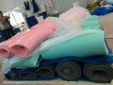 Feuille en caoutchouc de silicones, recouvrement de silicones fait avec des silicones 100% de Vierge sans odeur