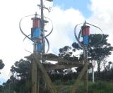 600W 고품질 산 (200W-5kw)에 수직 바람 발전기 터빈