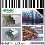 Warehouse Syetem Metal pesado Rack intermedia
