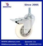 Nuova rotella materiale di nylon d'acciaio arrivata della rotella girevole del carrello dell'alimento
