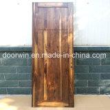 Fantastischer hölzerner Tür-Entwurfs-fertige schwarze Walnuss-hölzerne Innentür für Verkauf